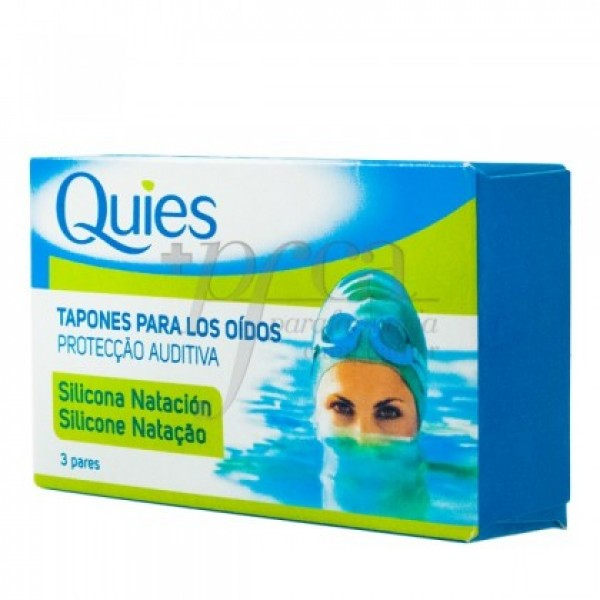 TAPONES QUIES OIDOS MAXI SILICONA 6 U