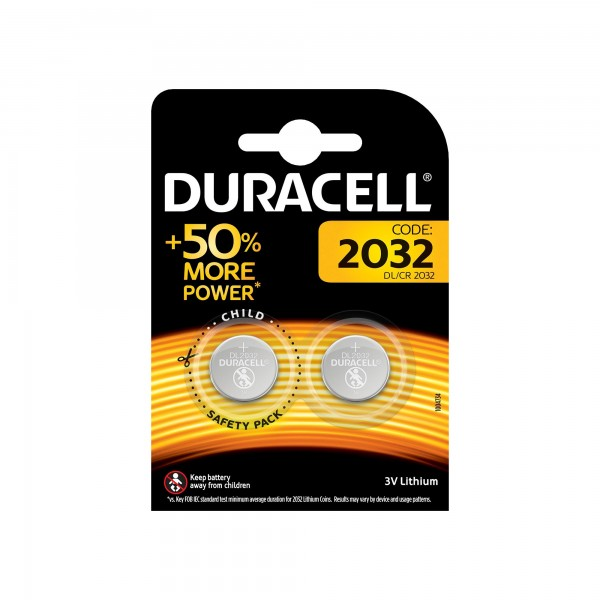Pila duracell litio cr-2032 bl.2