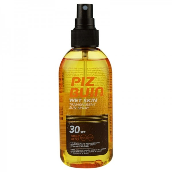 PIZ BUIN WET SKIN FPS30 SPRAY TRANSPARENTE 150ML